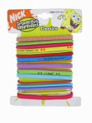 Spongebob Squarepants 17pc Hair Elastic Bands Ponytails