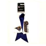 St. Louis Rams Ribbon Ponytail Holder