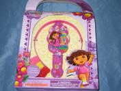 Dora The Explorer Girls Hair Care Set Brush Clips Ponytail Holder