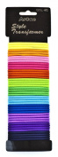 SHANY Ponytail Holder Rubber Band, Assorted Colours, 90ml
