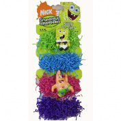 Spongebob Ponytail Scrunchy Bands - Nickelodeon Spongebob Squarepants Silly Ponies