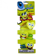 Spongebob Hair Ties - Nickelodeon Spongebob Squarepants Ponytail Holders