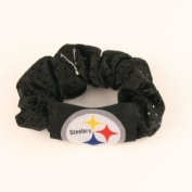 Pittsburgh Steelers Pony Tail Holder - Black