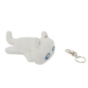 Gaia Online Mini Keychain Kiki Kitty Plush 7.6cm