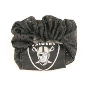 Oakland Raiders Black Pony Tail Holder