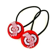 NCAA Ohio State Buckeyes Ladies Hair Ponytail Holder