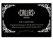 Callas Oil Control Film