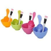 10.2cm 1 DIY Makeup Set Mask Bowl Gauge Stick Brush