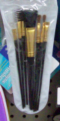 Cosmetic brushes in case -set of 7 - Pack of 24