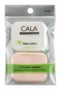 Elixir Beauty Cala 2 Pcs Makeup Wedges Sponges Non-Latex Oil Resistant for All Skin Types
