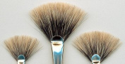 Jacksons Brush : BADGER FAN Series 602 : Size Medium