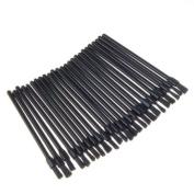 25 x Black Disposable Lip Stick Applicators Brush