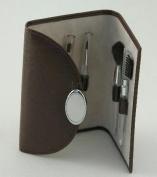 Creative Gifts BROWN 5 PC MAKE-UP BRUSH SET