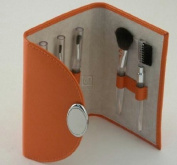 Creative Gifts ORANGE 5 PC MAKE-UP BRUSH SET