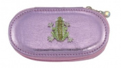 Frog Pink Small Make up Brush Case Set of 5 Brushes