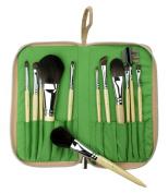 Royal & Langnickel Pro Greenline Eco-Friendly Brush Set 12 Piece Silk