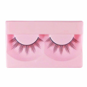 1 Pair High Quality Natural Fashion Fake Eyelashes Handmade Lashes Falsies with Glue - 004