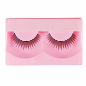 1 Pair High Quality Natural Fashion Fake Eyelashes Handmade Lashes Falsies with Glue - 124