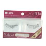 Sassi False Eyelashes 100% Human Hair, Free Glue #503