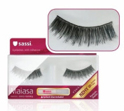 [Sassi] Maiasa Eyelashes 100% Remy Human Hair with Free Glue #5