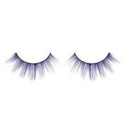 Stripy Black & Purple False Eyelashes