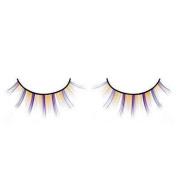 Stripy Orange & Purple False Eyelashes