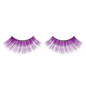 Long Purple False Eyelashes