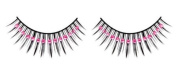 Pink Diamante False Eyelashes 12