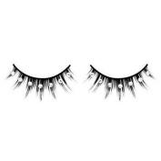 Black false Eyelashes with rhinestones nr.509 With free adhesive!