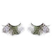 Spotted Feather Eyelashes