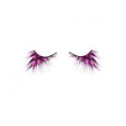 Drama Queen Polka Dot Pink Eyelashes Costume Eyelashes