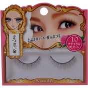 Isehan Kiss Me heroine make | Fake Eyelash | Impact Eyelash 10 Natural Volume