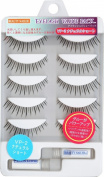 Muraki Beauty Nailer | Eyelash | Value Pack 5P w/Glue x2 VP-02 Natural Short