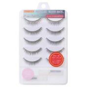 Muraki Beauty Nailer | Eyelash | Value Pack 5P w/Glue x2 VP-14 V-Cross Medium