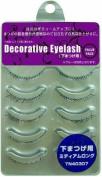 SHO-BI Decorative Eyelash | Eyelash | Under Eyelash Medium Long 5P