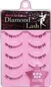 WAVE CORPORATION Diamond Lash | Eyelash | Model Eyes Under Eyelashes 5P