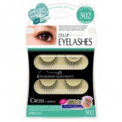 d.u.p | Eyelash | CROSS 302 2-Pairs