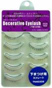 SHO-BI Decorative Eyelash | Eyelash | Under Eyelash Straight 5P