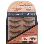 ANNEX JAPAN ANNEX | Eyelash | Eye Design's Brown Lash Shaggy Brown 4-Pack ED-102