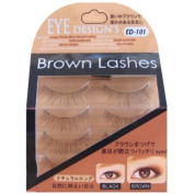 ANNEX JAPAN ANNEX | Eyelash | Eye Design's Brown Lash Natural Long Brown 4-Pack ED-101