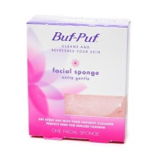 Buf-Puf Facial Sponge, Extra Gentle [Pack of 6]