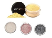 Micabeauty Mineral Makeup Foundation Mf3 Toffee + Pick your 3 Eye Shimmers