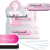 Clothing 2-Sided Tape 036-Strips w/ 1 Tin - Hollywood Fashion Tape #FT36