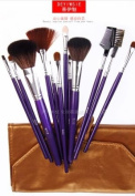 Beauty Essential Kit - Luxury Comprehensive 12-pc Antibacterial Professional Cosmetic Makeup Brush Set - Studio Line Brushes Made of Natural Bristles. Factory Direct,OEM For Japan Department Stores.Why Pay More For The Same Brush Set. This Brand New Make