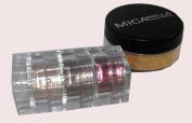 Micabella Mineral Makeup Foundation #Mf5 Cappuccino 9 Gr+lip Colour Pot True Red+3 stacks A-viva