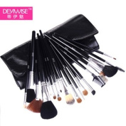 Beauty Essential Kit - Luxury Comprehensive 18-pc Antibacterial Professional Cosmetic Makeup Brush Set - Studio Line Brushes Made of Natural Bristles. Factory Direct,OEM For Japan Department Stores.Why Pay More For The Same Brush Set. This Brand New Make