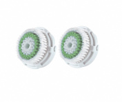 Clarisonic Replacement Brush Head Twin Pack For Acne Cleansing