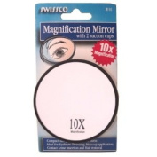Small Swissco Mirror Magnifying with Suction Cup 10X