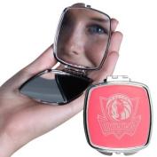 Dallas Mavericks Official Licenced NBA Pink Compact Mirror