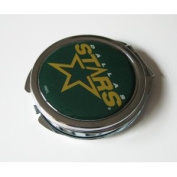 Dallas Stars Ladies Compact Mirror w/ Floral Design